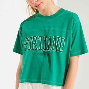 Urban Outfitters Cropped Portland Top